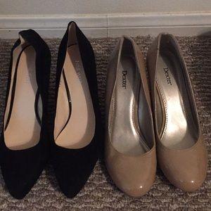 2 NWOB Wedge Heels 9 West & Dexter Size 9